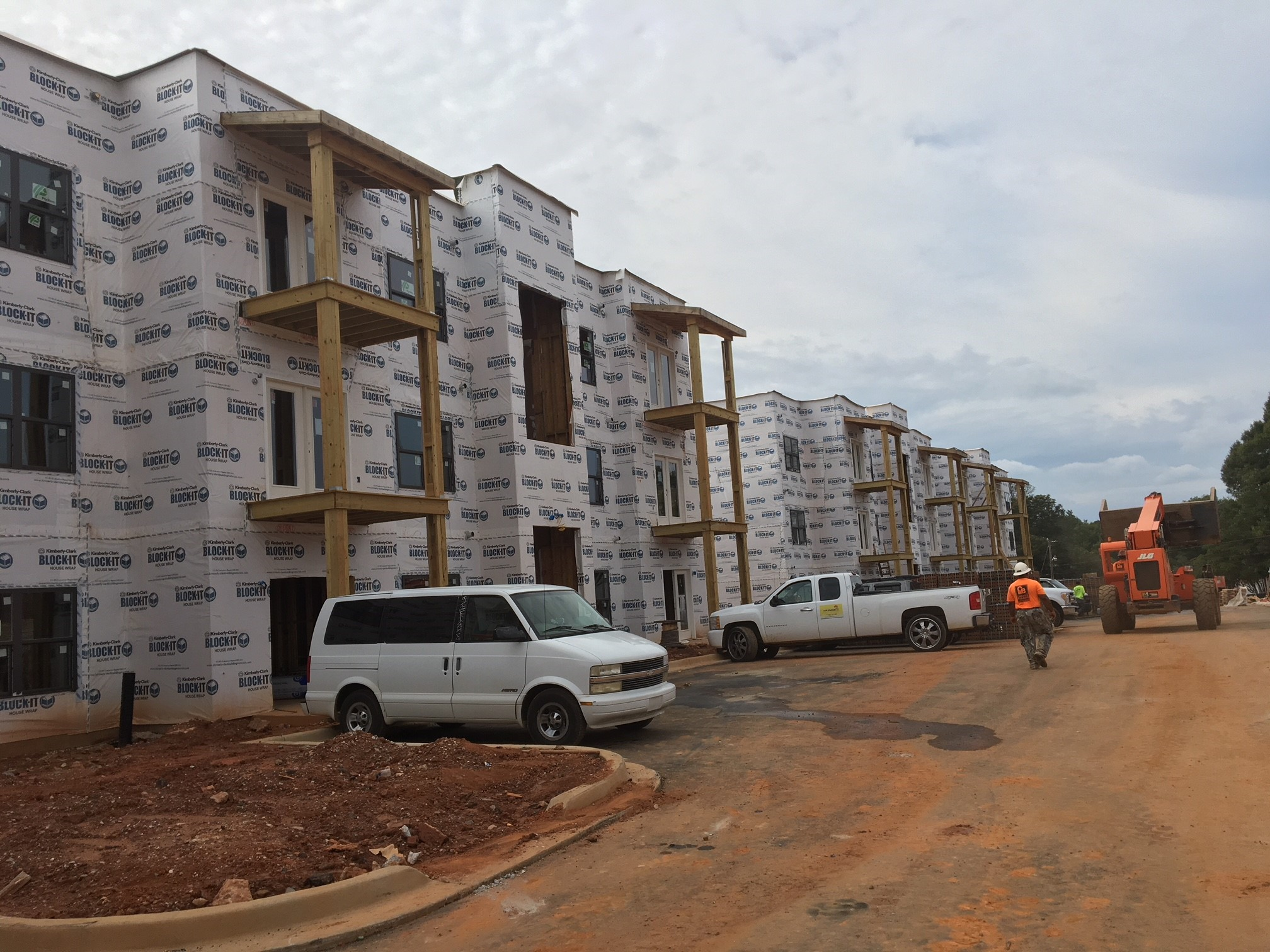 Cotton Mill Apartments Commences Vertical Construction